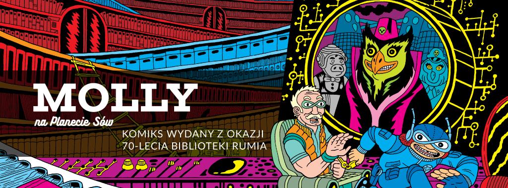 Komiks 'Molly na Planecie Sów' – dostępny online