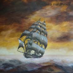 Finisaż wystawy prac marynistycznych Gabriela Oleszka
