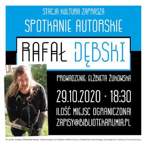 Spotkanie autorskie z Rafałem Dębskim