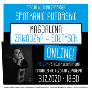 Spotkanie online z Magdaleną Zawadzką Sołtysek