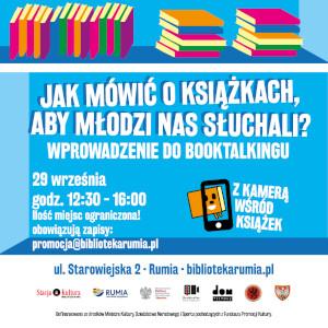 Jak mówić o książkach, aby młodzi nas słuchali? – warsztaty booktalkingu